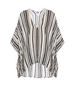 Velvet by Graham & Spencer | Amidala Striped Cotton Top