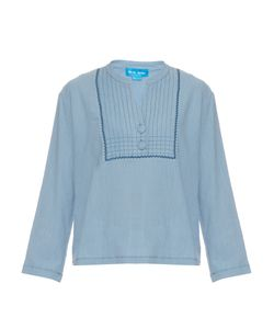 Mih Jeans | Still Long-Sleeved Crepon Top