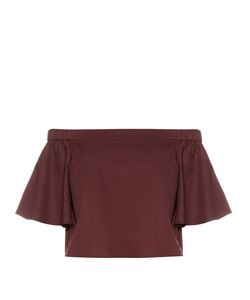Tibi | Off-The-Shoulder Cotton Top