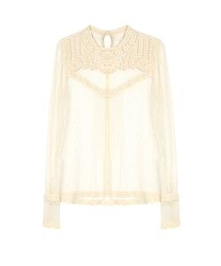 Red Valentino | Long-Sleeved Lace Top