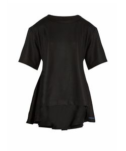YOHJI YAMAMOTO REGULATION | Fluted-Back Wool-Felt Top