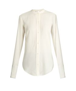 Helmut Lang | Back-Knot Raw-Edge Blouse