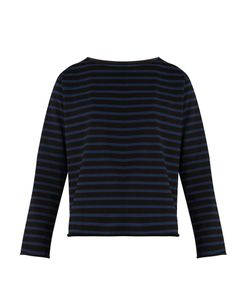 Mih Jeans | Simple Marinière Striped Cotton-Jersey Top