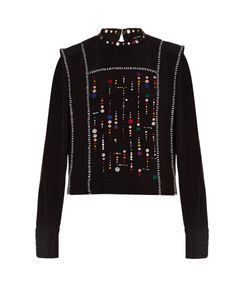 Isabel Marant | Fawna Embroidered Top