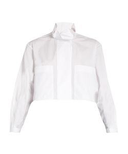 Ellery | Type A Ruffle-Collar Cotton Shirt