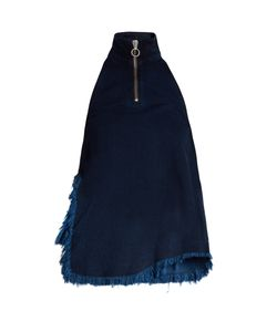 Marques Almeida | Frayed-Edge Denim Top