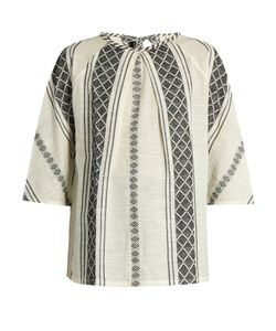 ACE & JIG | Beatrice Woven-Cotton Top