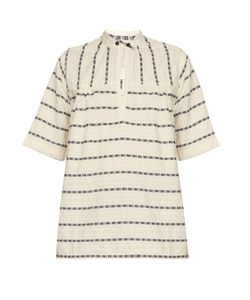 ACE & JIG | Saltspring Woven-Cotton Top