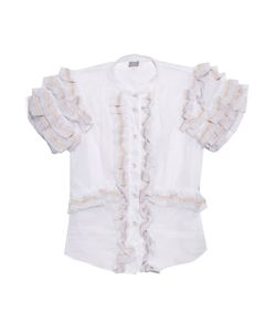Jupe By Jackie | Ruffled Cotton-Organdy Blouse