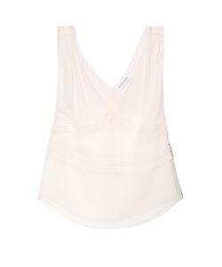 Altuzarra | Hattie Sleeveless Silk-Chiffon Top
