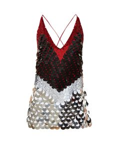 Altuzarra | Greer Sequinned Sleeveless Top