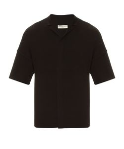 Balenciaga | Notch-Collar Wool-Knit Shirt