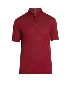 Ermenegildo Zegna | Short-Sleeved Cotton Polo Shirt