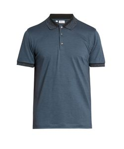 Brioni | Short-Sleeved Wool And Cashmere-Blend Polo Shirt