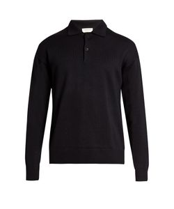 Tomorrowland | Long-Sleeved Wool And Mohair-Blend Polo Shirt