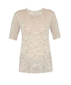 Raquel Allegra | Rainwash-Print Jersey T-Shirt