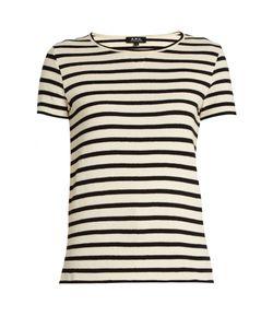 A.P.C.   Lynn Striped Cotton T-Shirt