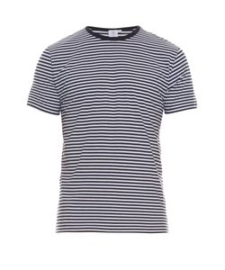 Sunspel | Striped Cotton T-Shirt