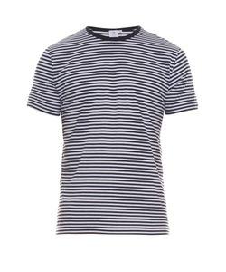 Sunspel | Striped Cotton T-Shirt