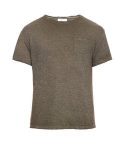 Valentino   Star-Panel Cotton T-Shirt