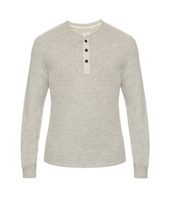 Rag & Bone | Long-Sleeved Henley T-Shirt