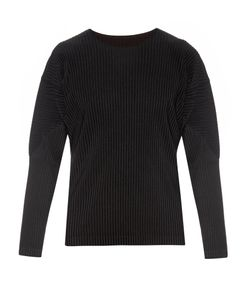 HOMME PLISSE ISSEY MIYAKE | Pleated Long-Sleeved Top