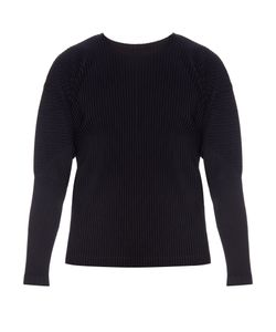 HOMME PLISSE ISSEY MIYAKE | Long-Sleeved Pleated Top