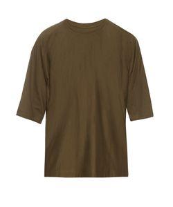 HOMME PLISSE ISSEY MIYAKE | Crew-Neck Cotton T-Shirt