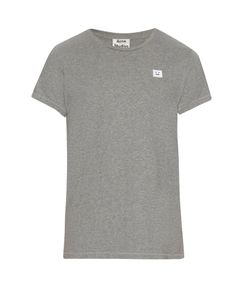 Acne | Standard Face-Patch Cotton T-Shirt