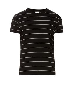 Saint Laurent | Striped Cotton Jersey T-Shirt