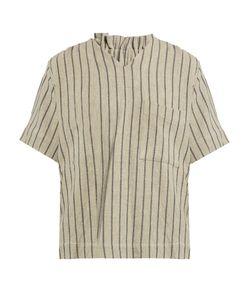 CRAIG GREEN | Striped V-Neck Top