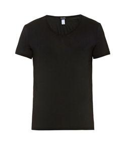 Hanro | Micro Touch V-Neck T-Shirt