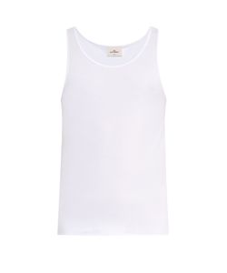 THE WHITE BRIEFS | Rye Cotton Tank Top