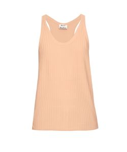 Acne | Iso Ribbed Cotton-Blend Tank Top