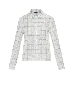 Wes Gordon | Camp Checked Tweed Shirt