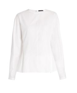 The Row | Galo Balloon-Sleeved Cotton Blouse