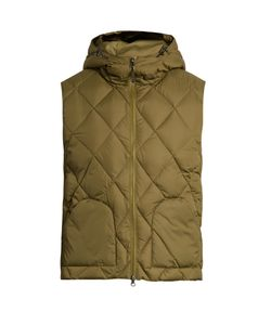 MT. RAINIER DESIGN | Mr61311 Hooded Quilted-Down Gilet