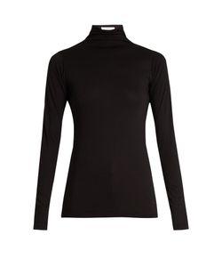 Velvet by Graham & Spencer | Talisia High-Neck Long-Sleeved T-Shirt