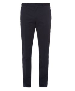 PAUL SMITH LONDON | Tailored Stretch-Cotton Chino Trousers