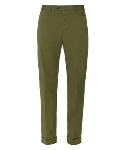 Michael Bastian | Slim-Leg Stretch-Cotton Chino Trousers