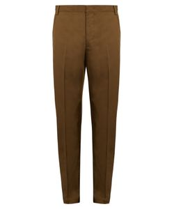 Lanvin | Slim-Leg Cotton Chino Trousers