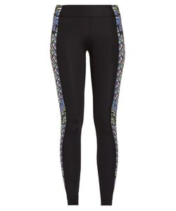 Mara Hoffman | Rugs-Print Panelled Performance Leggings