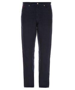 120% Lino | Straight-Leg Linen Trousers