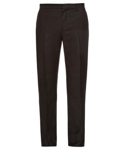 Lanvin | Slim-Leg Tailored Wool Trousers