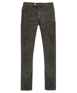 HELBERS | Slim-Leg Cotton-Blend Corduroy Trousers