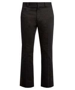 Marc Jacobs | -Stripe Straight-Leg Cotton Trousers
