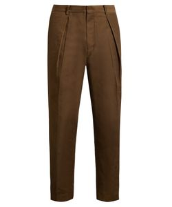 Tomorrowland | Memory Wide-Leg Twill Trousers