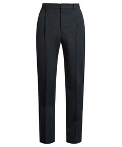 LEMAIRE | Mid-Rise Pleated Wool-Twill Trousers