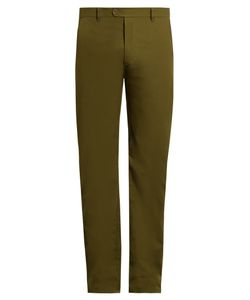 CRAIG GREEN | Slim-Fit Cotton-Blend Trousers