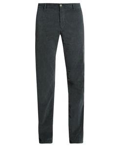 J.W. Brine | Owen Slim-Leg Stretch-Cotton Corduroy Trousers